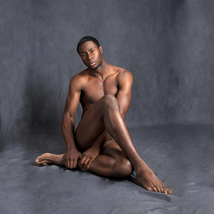 Wall ebony male nude models free