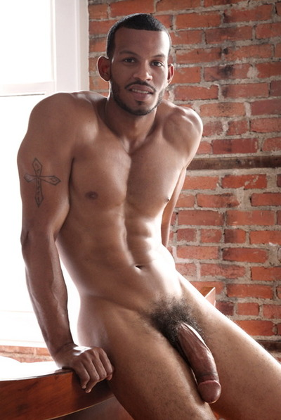 Muscular Naked Black Men 23